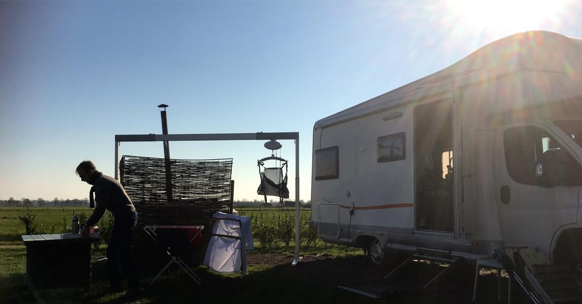 Vechtdal, Camper ochtend