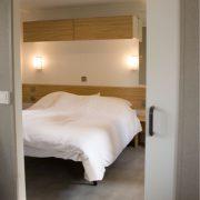 Het Wieskamp, Landleven chalet grote slaapkamer