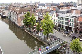 Vismarkt Mechelen, aan het water